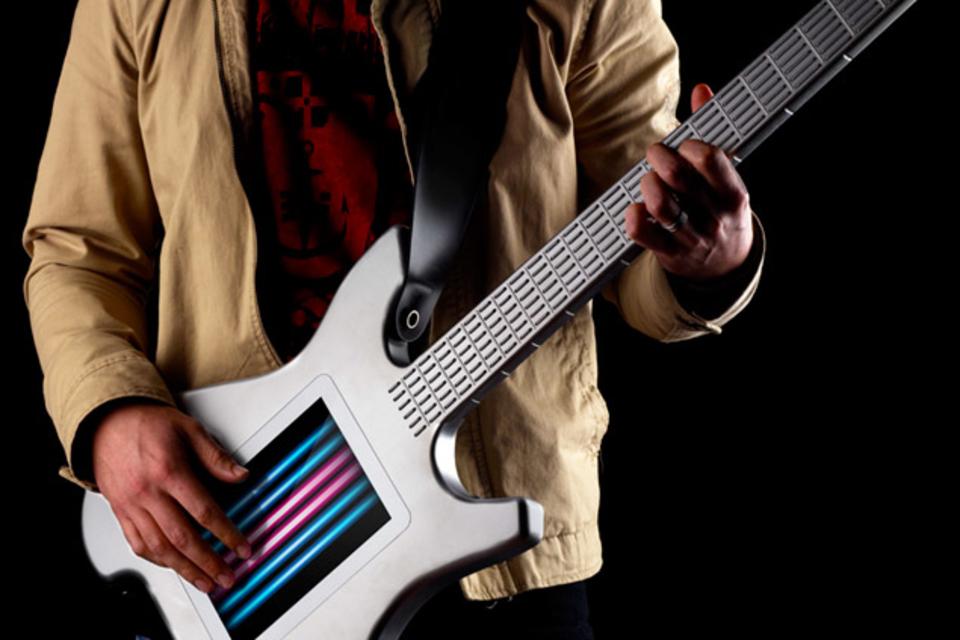 Sugo music Blog strangest guitars futuristic guitar synthesizer Misa Kitara