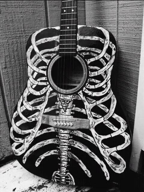 sugo music blog strangest guitars scary acoustic guitar skeleton guitar