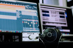 Headphones and recording studio for DIY musicians