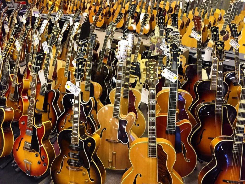 Top strangest guitars for musicians